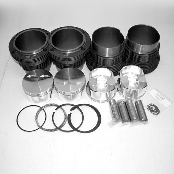 Forged JE 96mm 2.0 Porsche 914/ VW Type 4  Piston and Liner kit-2618 Forged, AA and JE, Cast Iron, dis25, Type-4-914