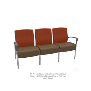 Aloe Pre-Configured Seating No Center Arms