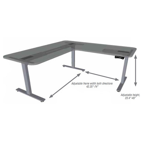 Richelieu Unite II 3-Leg Electric Table Base