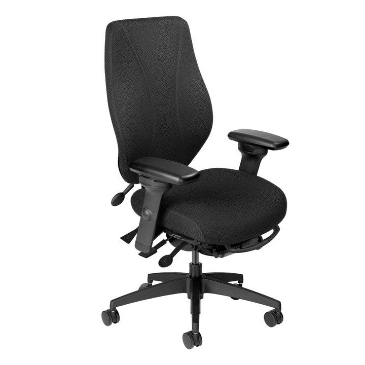 ergoCentric tCentric Upholstered Chair Quick Ship