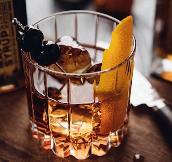 woodinville old fashioned cocktail