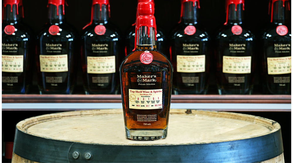 maker's mark top shelf store pick