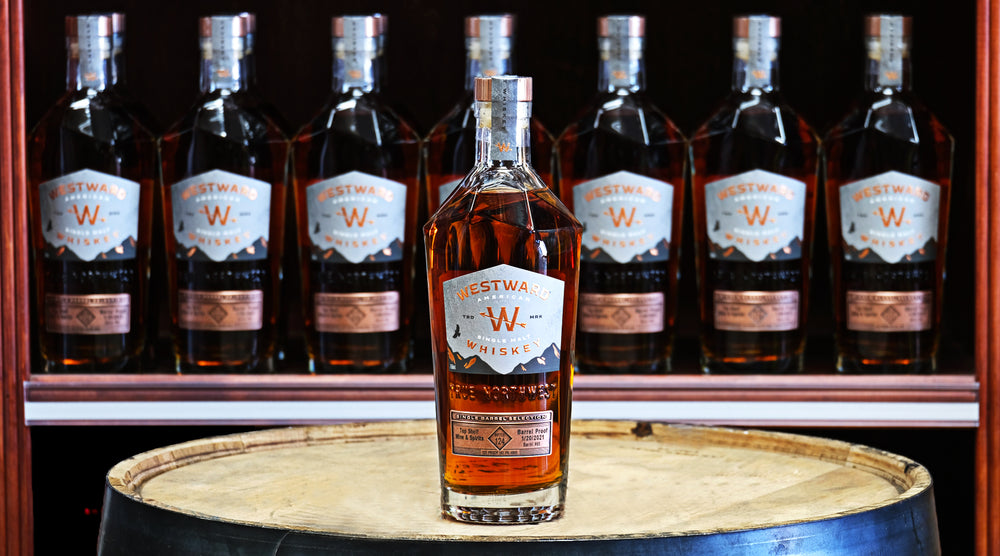 westward barrel proof single barrel store pick