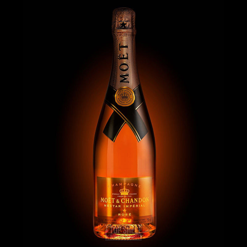 Moët & Chandon Nectar Impérial Rosé Luminous Bottle
