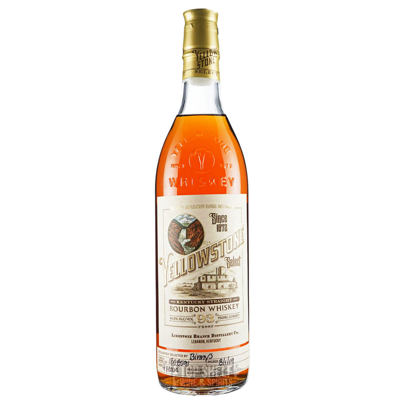 Yellowstone Barrel Select Single Barrel Bourbon