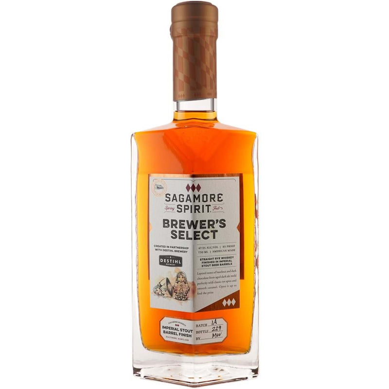 Sagamore Spirit Brewer's Select Rye Ale Finish