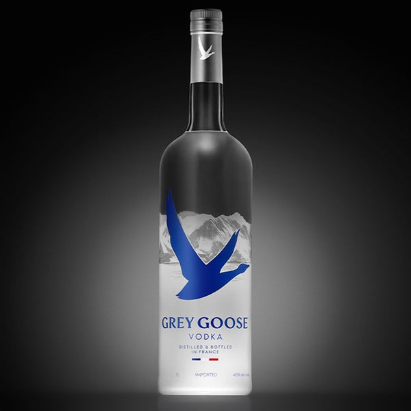 Grey Goose Vodka Night Vision Light Up Bottle 1.75L