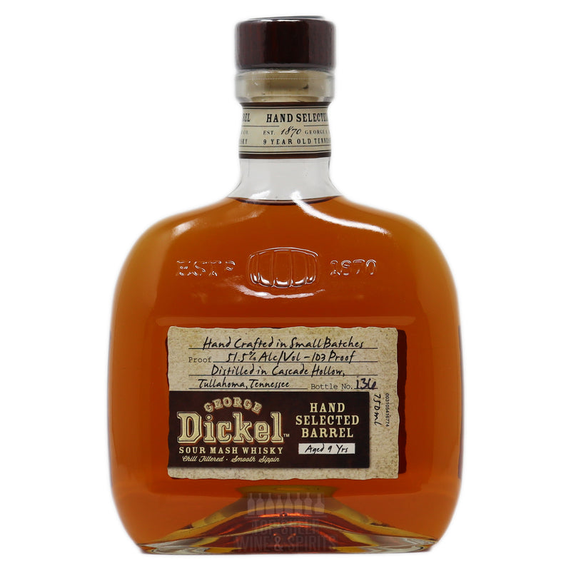 Dickel 9 Year Single Barrel Tennessee Whisky