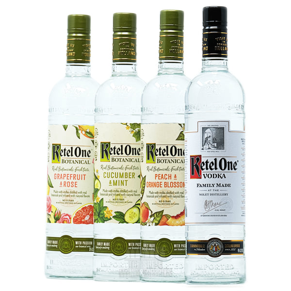 Ketel One Botanical Vodka Collection