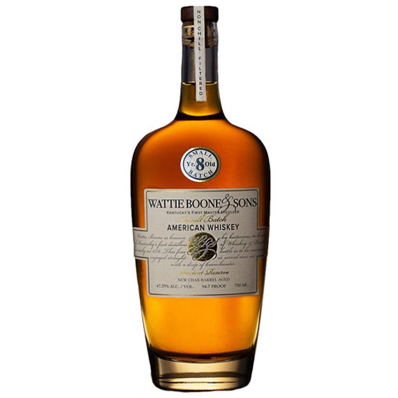Wattie Boone & Sons 8 Year Old Small Batch American Whiskey