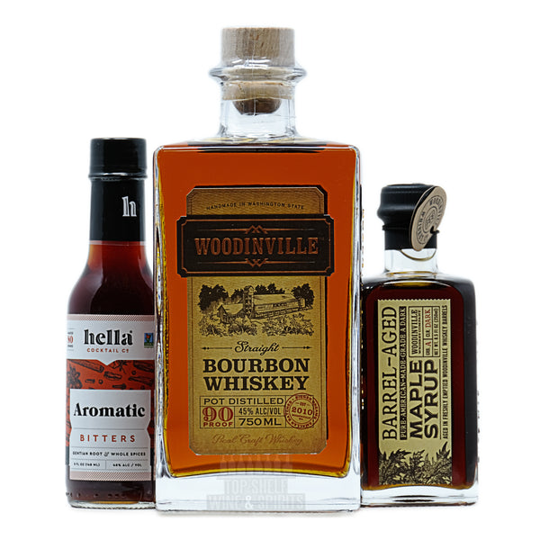 Woodinville Bourbon Old Fashioned Kit