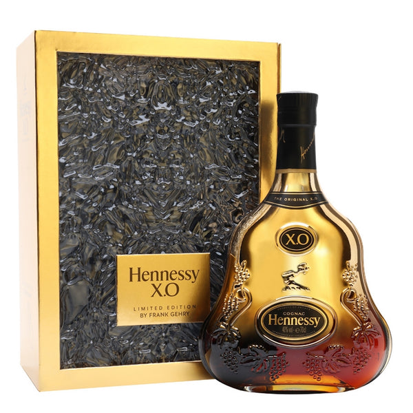 Hennessy X.O Frank Gehry Limited Edition Bottle
