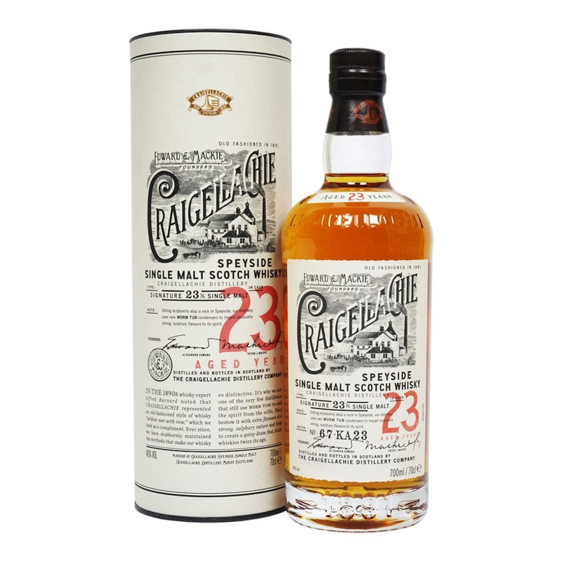 Craigellachie 23 Year Scotch Whiskey