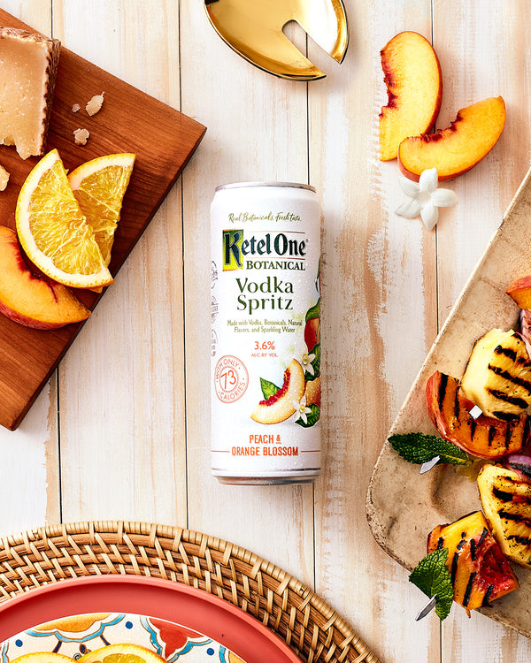 Ketel One Vodka Spritz Peach & Orange Blossom 4 pack