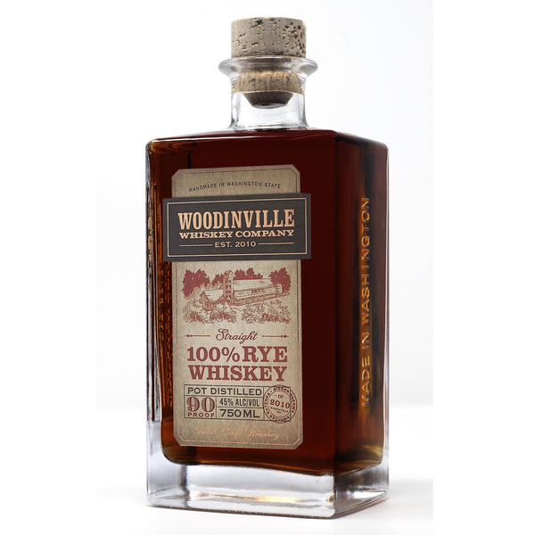Woodinville Straight 100% Rye Whiskey