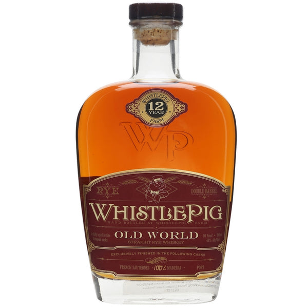 WhistlePig Old World 12 Year Straight Rye