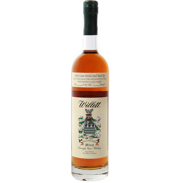 Willett Rye 4 Year Small Batch Whiskey