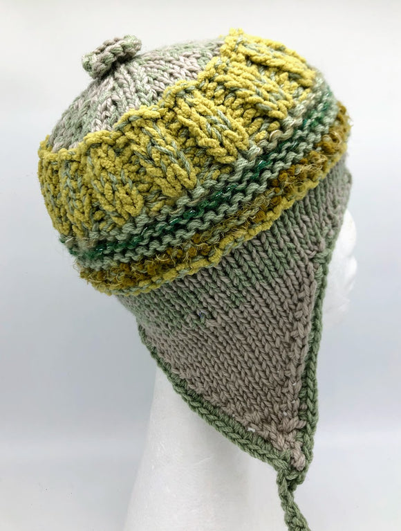 COASTAL BEANIE - Green Olive - Medium