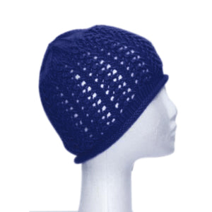 CLAIRE BEANIE - FRENCH NAVY