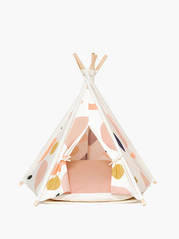 Huts and Bay teepee tent for dogs