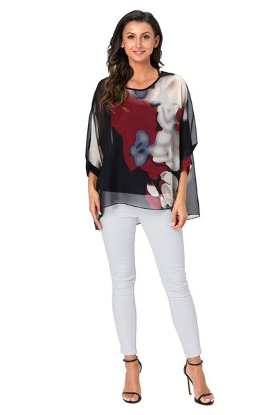 Batwing Casual Blouse Shirt