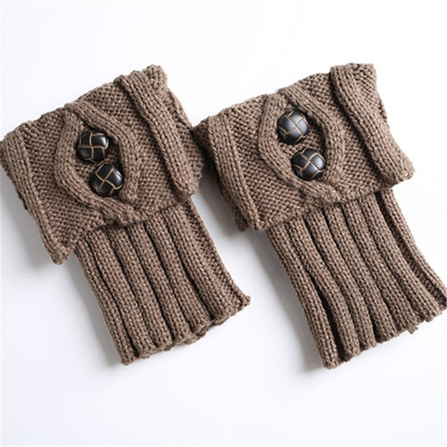 9 Colors Short Boot Cuff Leg Warmers