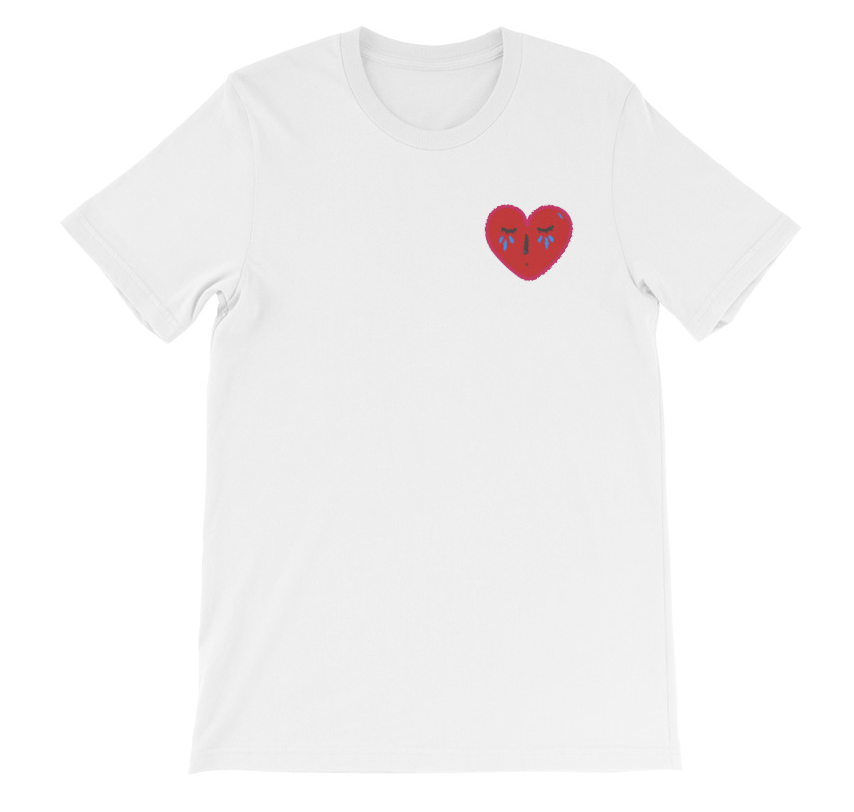 e17d43ac47dd Crying Heart Tee - Anderson Goods Co.