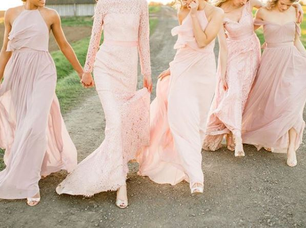 Six Ways to Style Rachel Simpson Shoes with Bridesmaids Dresses
