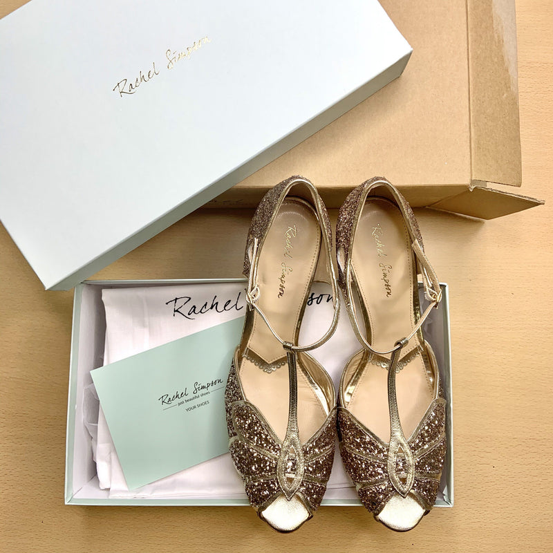 Unboxing your brand new pair of Rachel Simpson shoes