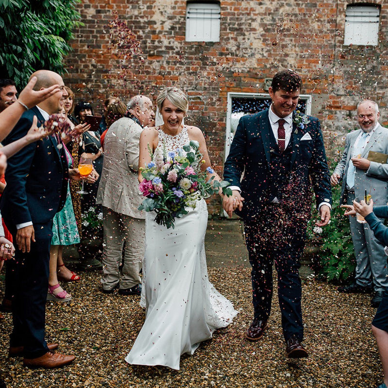 Wedding Wednesday Emily and Adam's Colourful Summer Wedding