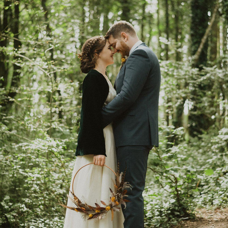 Wedding Wednesday- Erin and Brendan's Creative Woodland Wedding