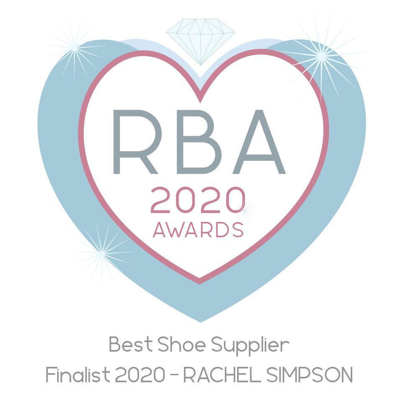 We've been shortlisted for Best Shoe Supplier at the Retail Bridal Awards!