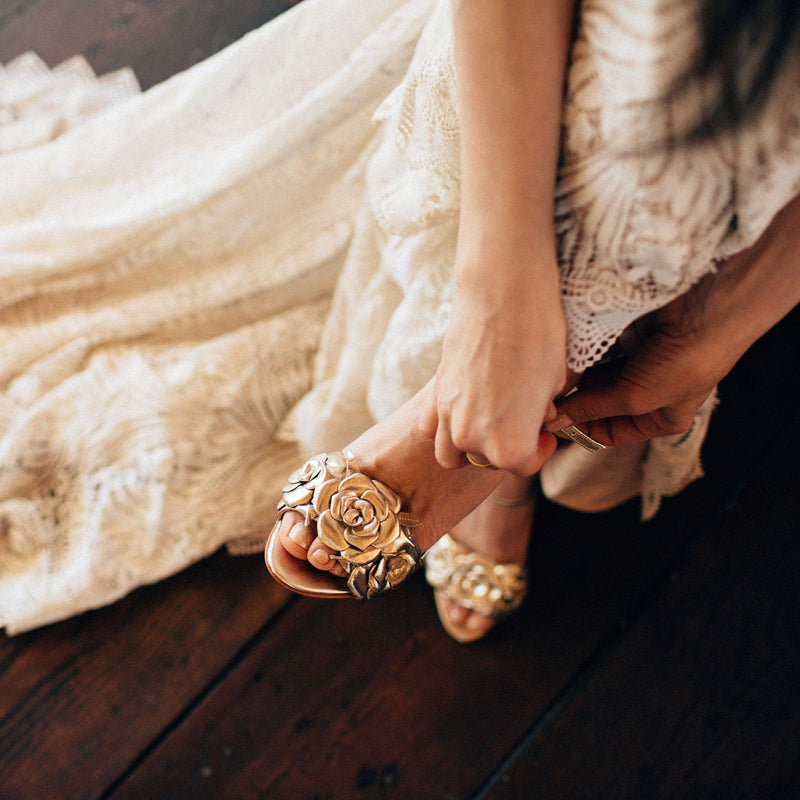 When to Buy Your Wedding Shoes