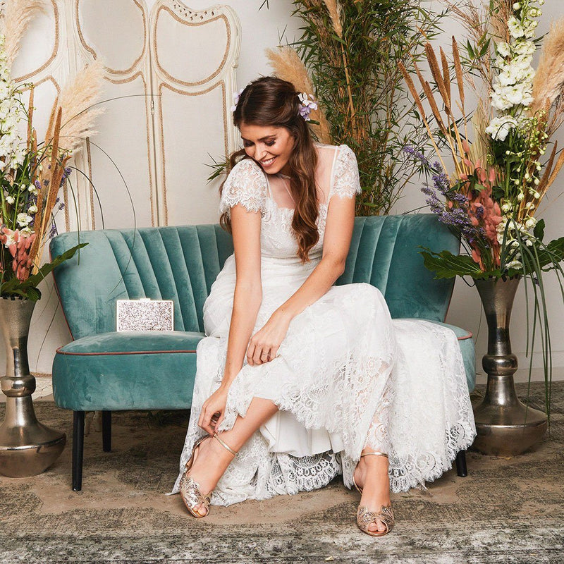 Why choose Rachel Simpson wedding shoes?
