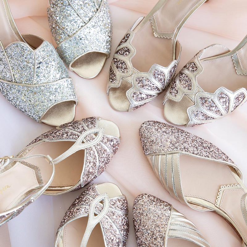 Why we love Glitter Shoes!