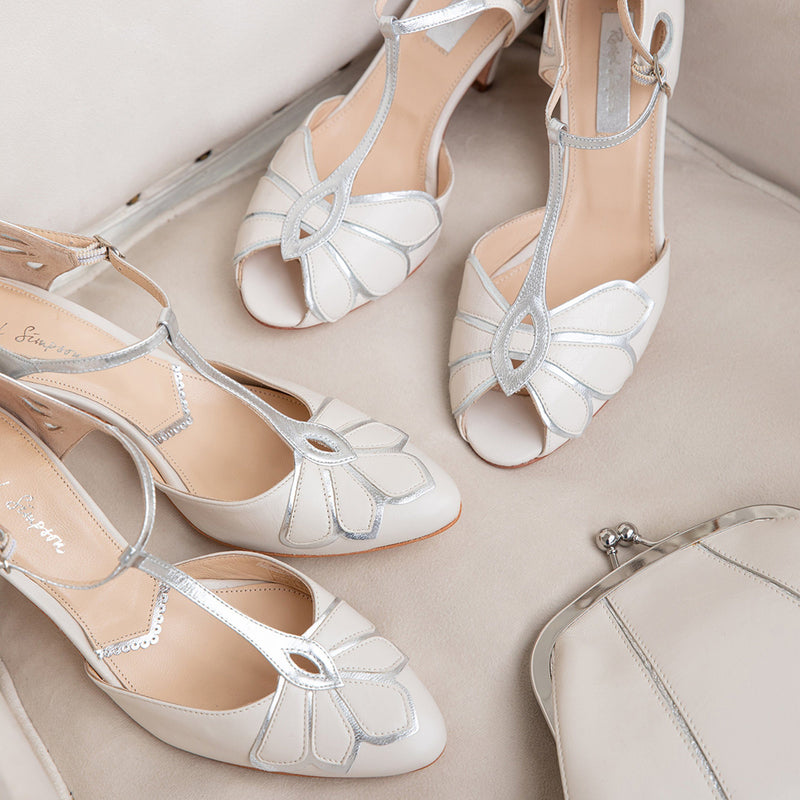 Why we love T-bar wedding shoes