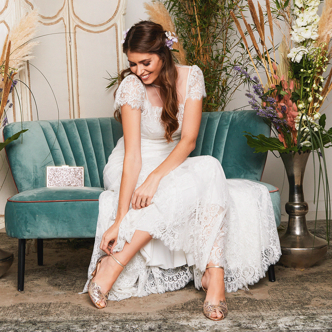 Rachel Simpson how to choose your wedding shoes
