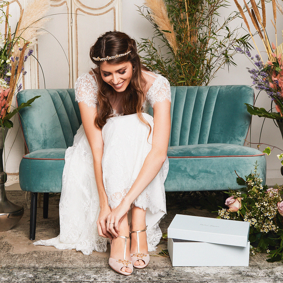 How to choose your wedding shoes Rachel Simpson