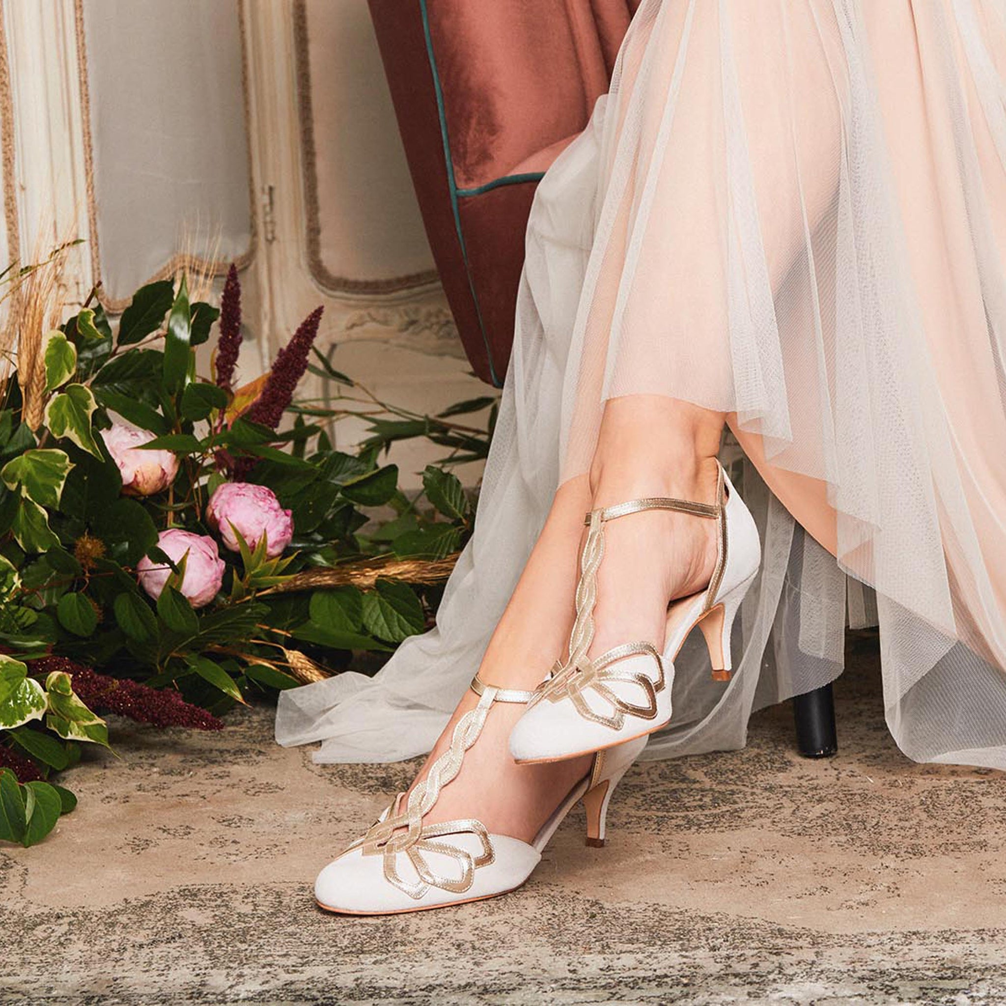 Low Heel wedding shoes you can wear all night