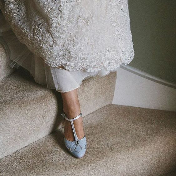 Rachel Simpson Vintage style Wedding Shoes