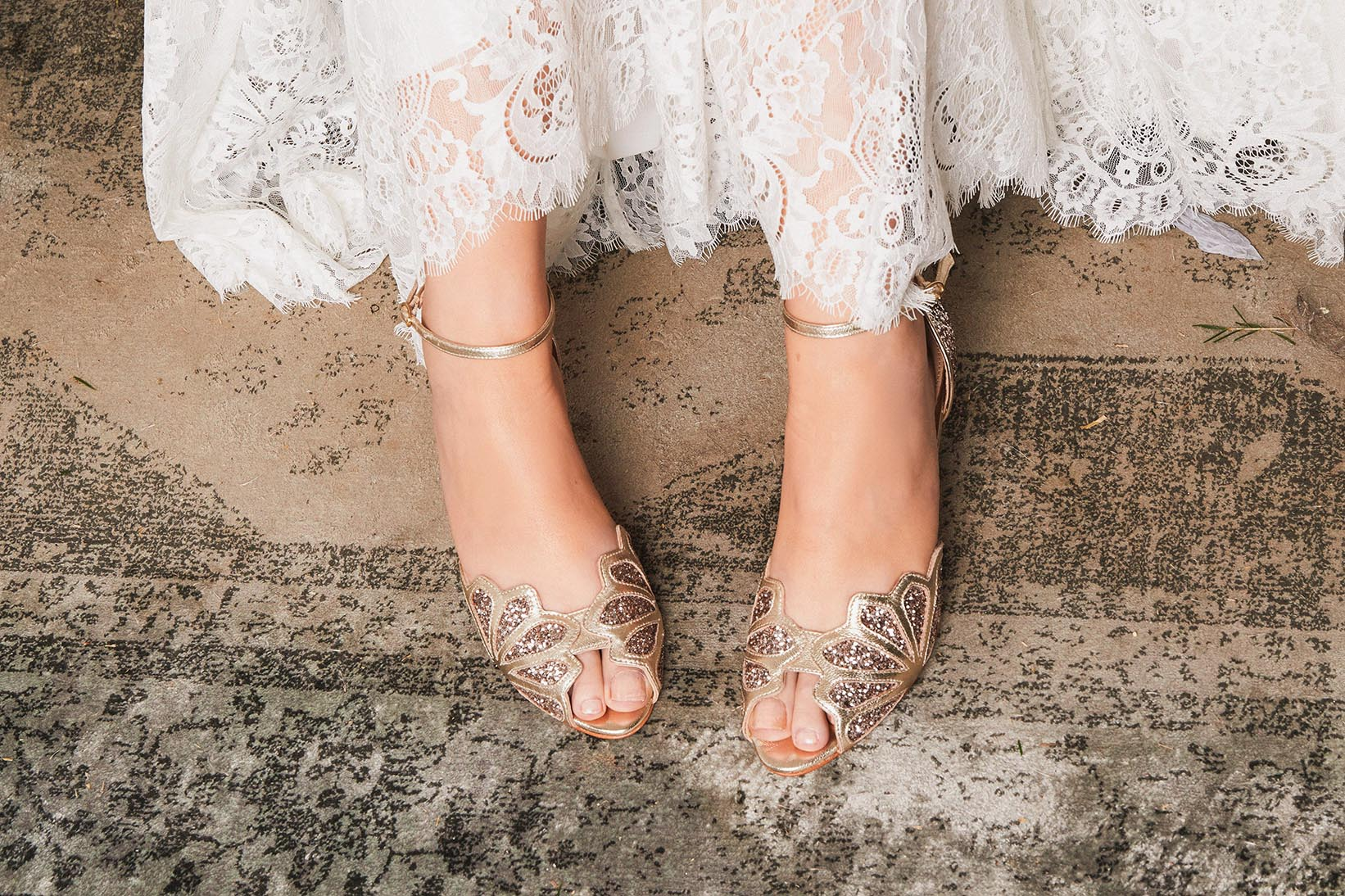 Low Heel Comfortable Wedding Shoes