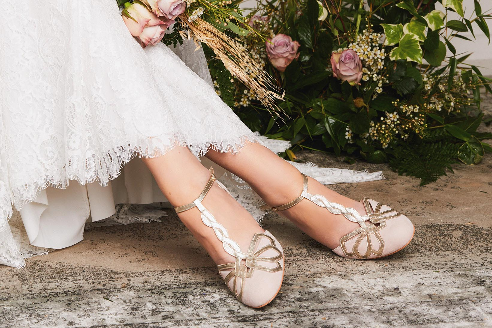 Pink Rosita Wedding Shoe
