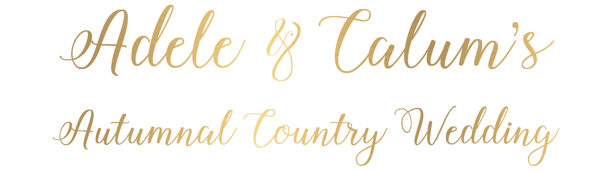Adele and Calum's Autumnal Country Wedding