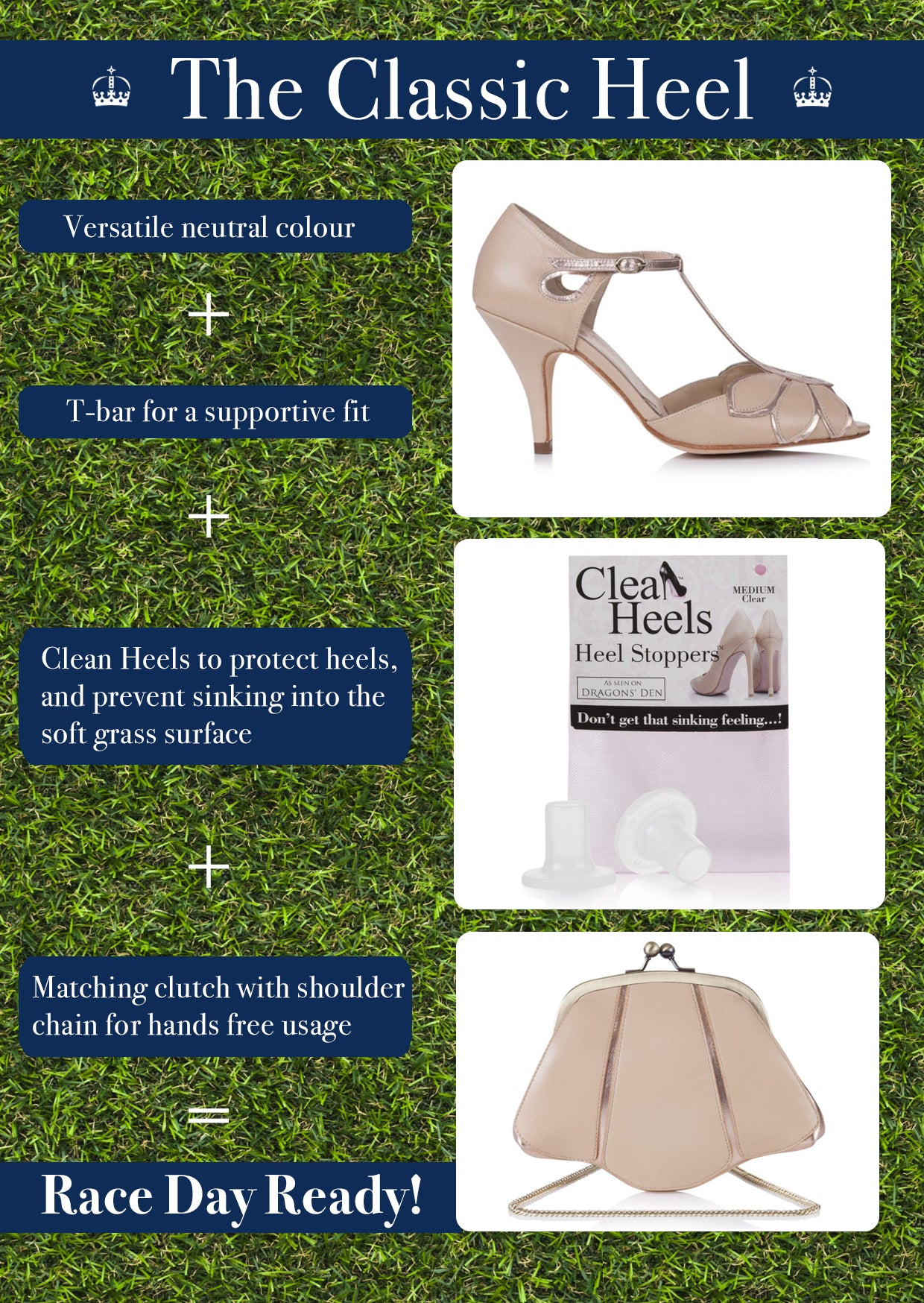 Classic shoes for Royal Ascot