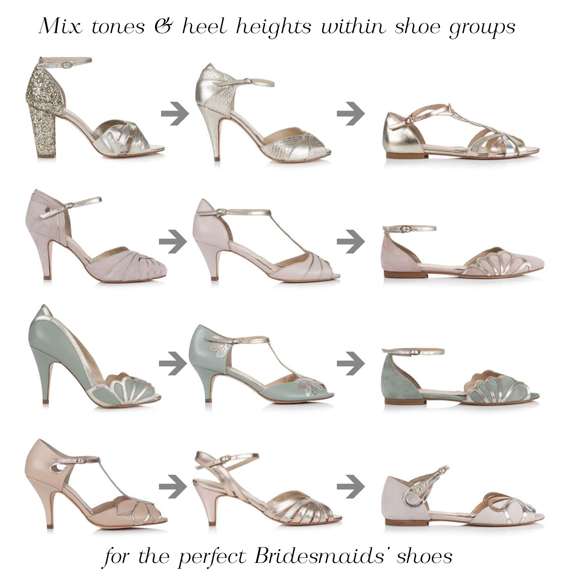 Rachel Simpson bridesmaid shoes