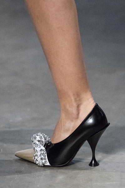 Burberry Embellished court shoe