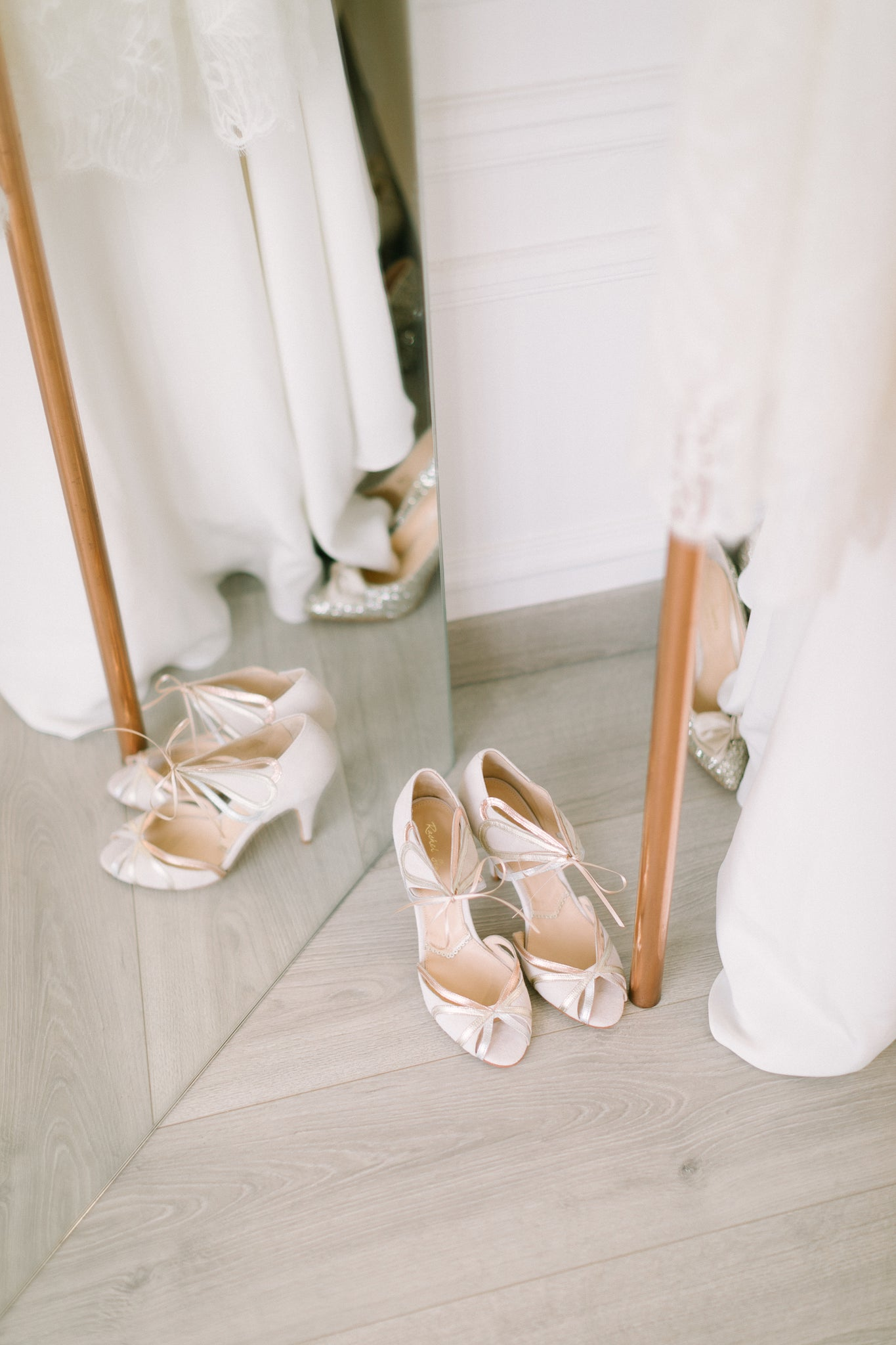 Rachel Simpson wedding shoes Elise Martimort wedding dresses Paris