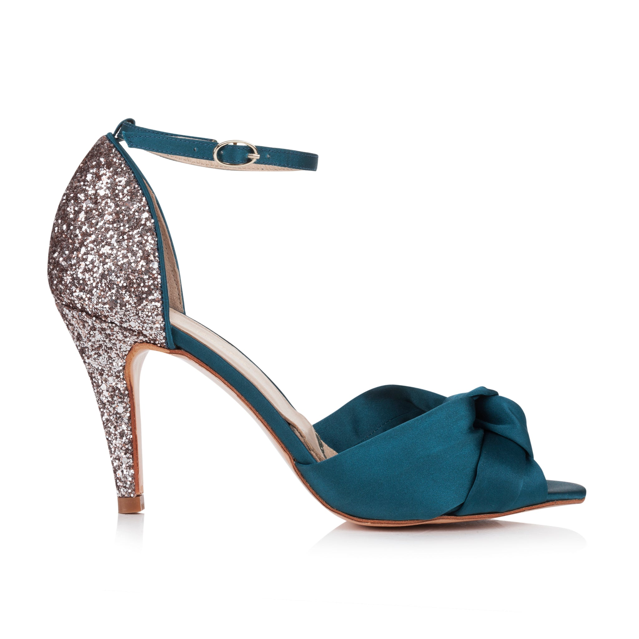 Rachel Simpson Skyla Teal Party Shoe