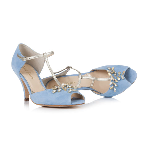 Rachel Simoson Peep toe Amalia Wedding Shoes