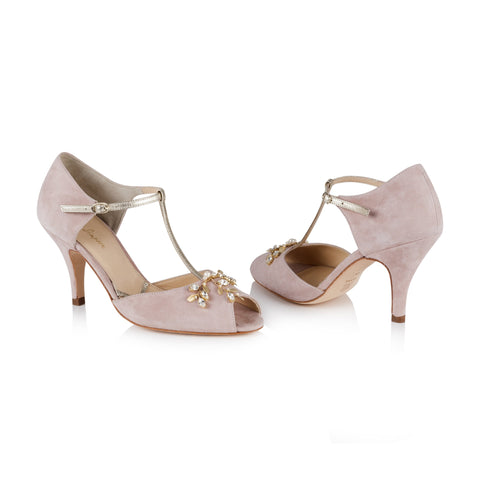 Rachel Simpson Wedding Shoes Peep Toe Amalia